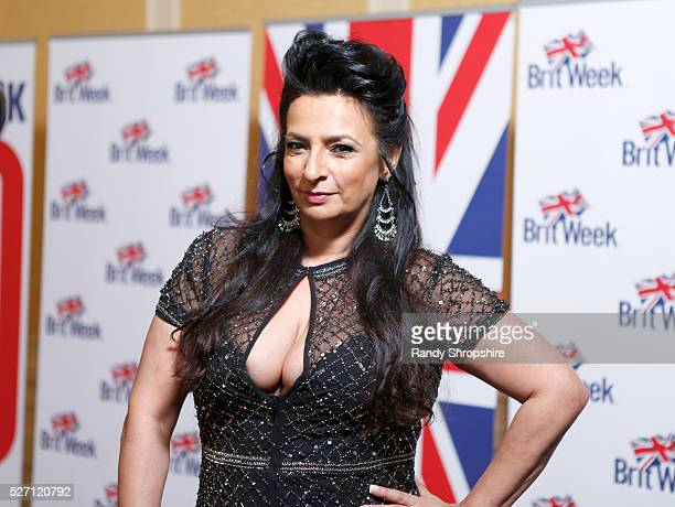 Actress Alice Amter attends BritWeek's 10th Anniversary VIP Reception Gala at Fairmont Hotel on May 1 2016 in Los Angeles California