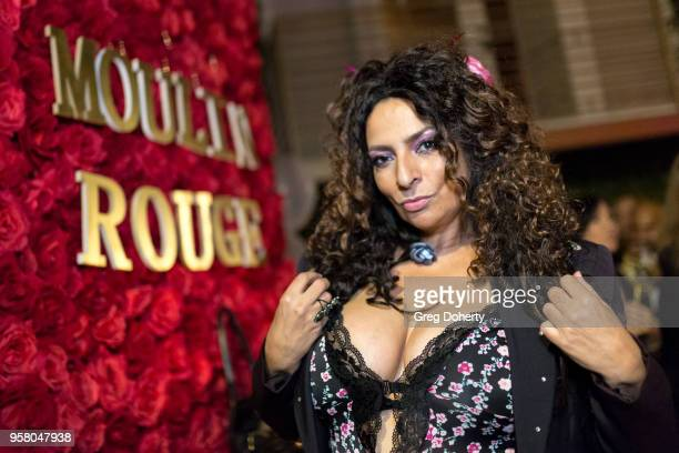 Actress Alice Amter attends Lisa Haisha's Moulin Rouge Birthday Celebration on May 12 2018 in Sherman Oaks California