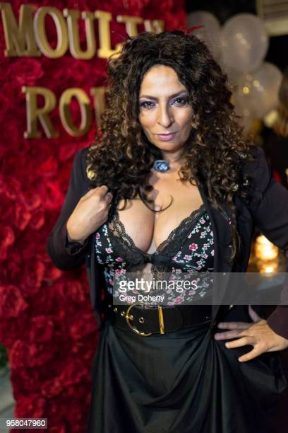 Actress Alice Amter attends Lisa Haisha's Moulin Rouge Birthday Celebration on May 12 2018 in Sherman Oaks California
