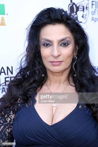 Actress Alice Amter attends the 13th Annual Indian Film Festival Of Los Angeles Opening Night Screening Of 'Haraamkhor' at ArcLight Hollywood on...