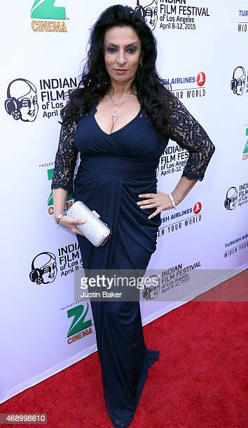Actress Alice Amter attends the 13th Annual Indian Film Festival Of Los Angeles Opening Night Screening Of Haraamkhor at ArcLight Hollywood on April...