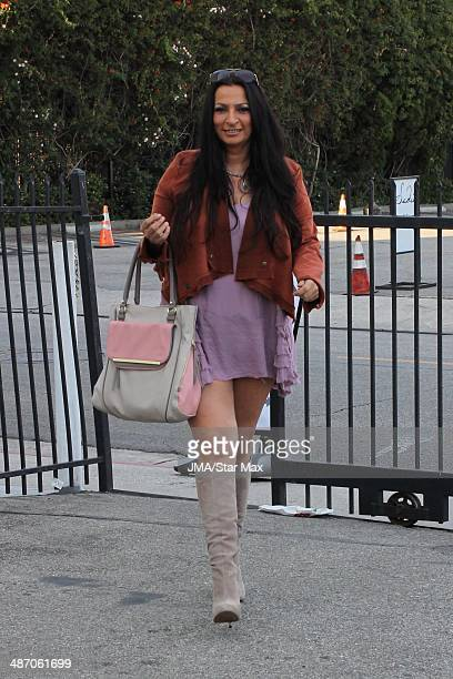 Actress Alice Amter is seen on April 26 2014 in Los Angeles California