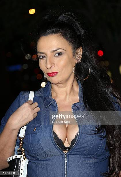 Actress Alice Amter is seen on March 22 2016 in Los Angeles California