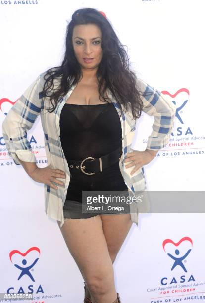Actress Alice Amter participates in the 10th Annual Justice Jog 5/10K Run Walk Hosted By GLAALA held on September 24 2017 in Century City California