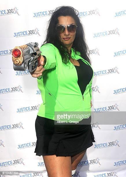 Actress Alice Amter participates in the 2016 Justice Jog 5K to benefit Casa LA on September 25 2016 in Los Angeles California