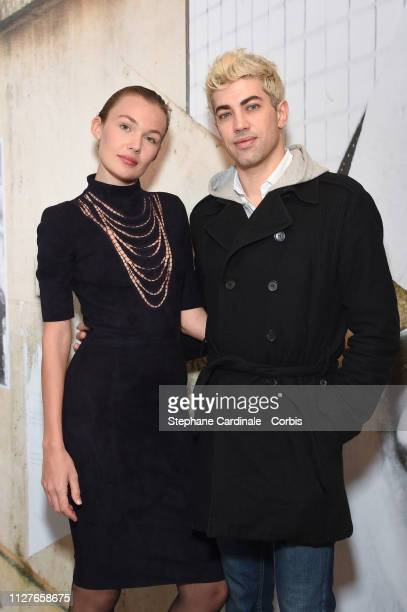 Actress Alice Aufray and director Julien Landais attend 'The Aspern Papers' Premiere at Maison Europeenne de la Photographie on February 05 2019 in...