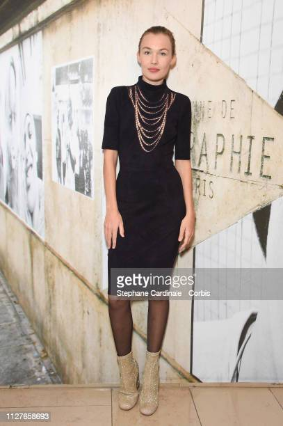 Actress Alice Aufray attends 'The Aspern Papers' Premiere at Maison Europeenne de la Photographie on February 05 2019 in Paris France