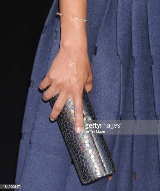 Actress Alice Braga at the Los Angeles premiere of 'Elysium' at Regency Village Theatre on August 7 2013 in Westwood California