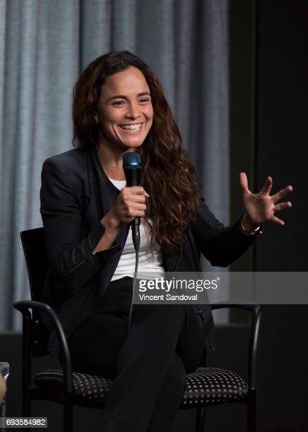 Actress Alice Braga attends SAGAFTRA Foundation's Conversations with 'Queen Of The South' at SAGAFTRA Foundation Screening Room on June 7 2017 in Los...