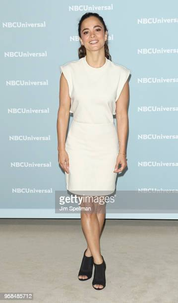 Actress Alice Braga attends the 2018 NBCUniversal Upfront presentation at Rockefeller Center on May 14 2018 in New York City