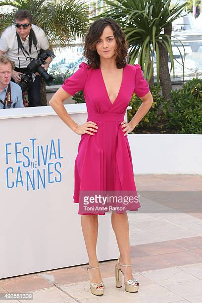 Actress Alice Braga attends the 'El Ardor' photocall at the 67th Annual Cannes Film Festival on May 19 2014 in Cannes France