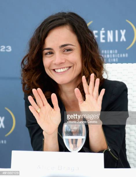 Actress Alice Braga attends the Fenix Film Awards at the 67th Annual Cannes Film Festival on May 16 2014 in Cannes France