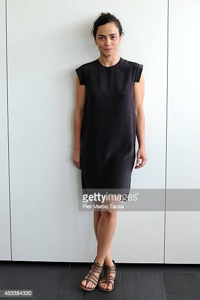 Actress Alice Braga attends the International Competition Jury Photocall at the 67th Locarno Film Festiva on August 7 2014 in Locarno Switzerland