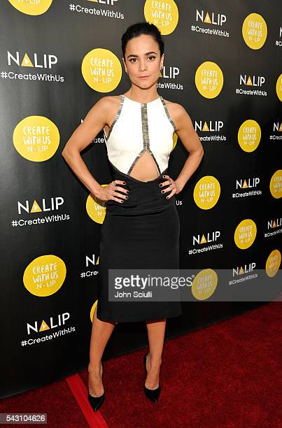 Actress Alice Braga attends the NALIP 2016 Latino Media Awards at Dolby Theatre on June 25 2016 in Hollywood California