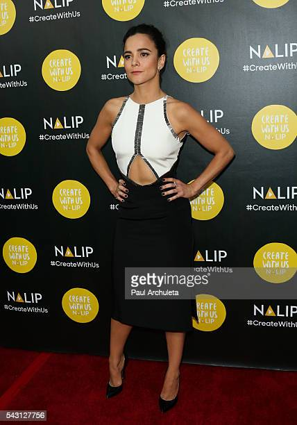 Actress Alice Braga attends the NALIP 2016 Latino Media Awards at The Dolby Theatre on June 25 2016 in Hollywood California