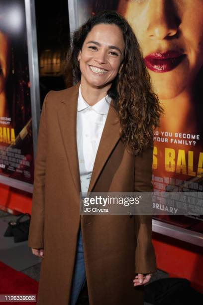 Actress Alice Braga attends the premiere of Columbia Pictures' 'Miss Bala' at Regal LA Live Stadium 14 on January 30 2019 in Los Angeles California