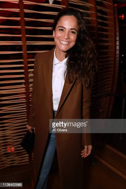 Actress Alice Braga attends the premiere of Columbia Pictures' 'Miss Bala' after party on January 30 2019 in Los Angeles California