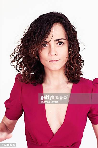 Actress Alice Braga is photographed for Self Assignment on May 18 2014 in Cannes France