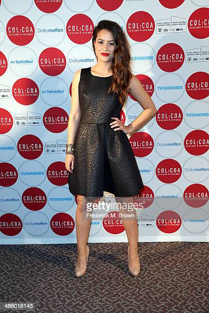 Actress Alice David attends the 18th Annual City of Lights City of Angels Film Festival at the Directors Guild Of America on April 21 2014 in Los...
