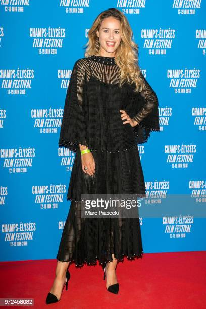 Actress Alice David attends the 7th Champs Elysees Film Festival at Cinema Gaumont Marignan on June 12 2018 in Paris France