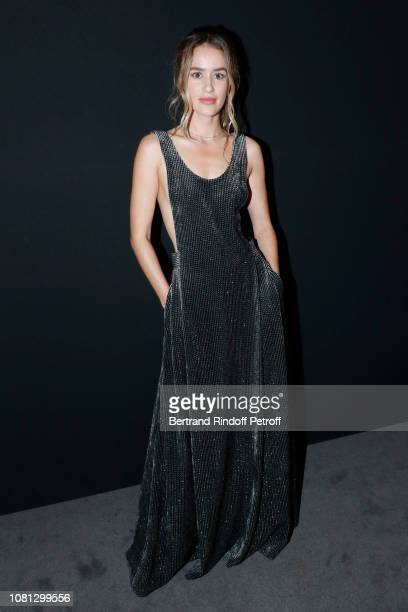 Actress Alice David attends the Annual Charity Dinner hosted by the AEM Association Children of the World for Rwanda at Pavillon Ledoyen on December...