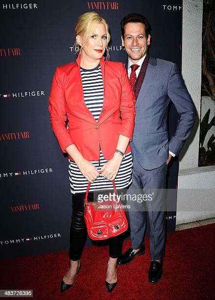 Actress Alice Evans and actor Ioan Gruffudd attend the debut of Tommy Hilfiger's Capsule Collection at The London Hotel on April 9 2014 in West...