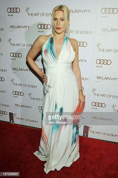 Actress Alice Evans arrives at Audi presents The Art of Elysium's 5th annual HEAVEN at Union Station on January 14, 2012 in Los Angeles, California.