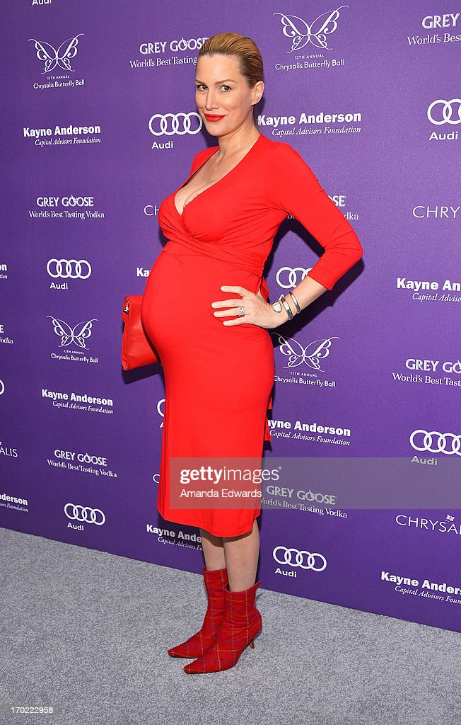 Actress Alice Evans arrives at the 12th Annual Chrysalis Butterfly Ball on June 8, 2013 in Los Angeles, California.