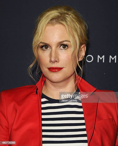 Actress Alice Evans attends the debut of Tommy Hilfiger's Capsule Collection at The London Hotel on April 9 2014 in West Hollywood California