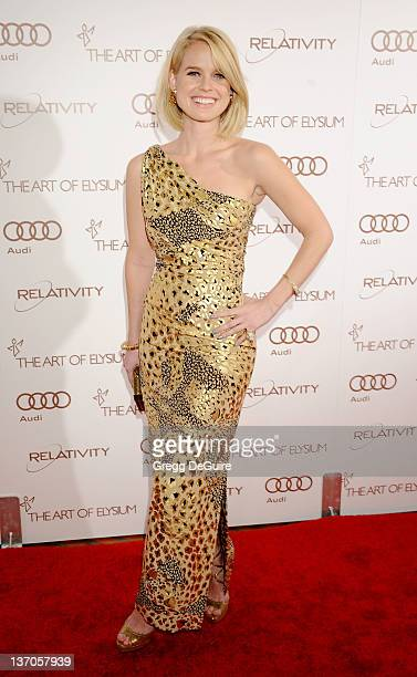Actress Alice Eve arrives at Art Of Elysium's 5th Annual Heaven Gala at Union Station on January 14 2012 in Los Angeles California