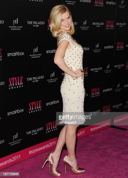 Actress Alice Eve arrives at the 2011 Hollywood Style Awards at Smashbox West Hollywood on November 13 2011 in West Hollywood California