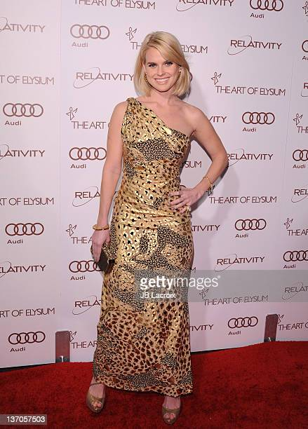 Actress Alice Eve arrives at The Art Of Elysium's 5th Annual Heaven Gala on January 14 2012 in Los Angeles California