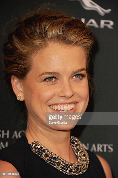Actress Alice Eve arrives at the BAFTA Los Angeles Awards Season Tea Party at the Four Seasons Hotel Los Angeles at Beverly Hills on January 11 2014...