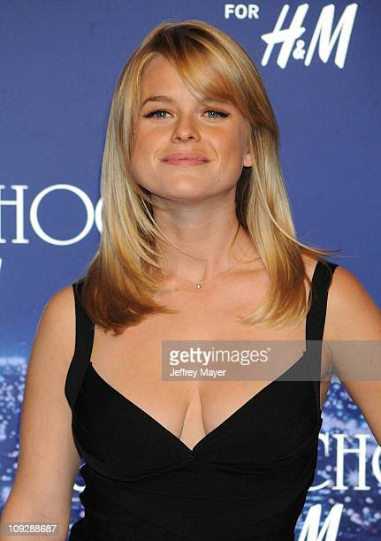 Actress Alice Eve arrives at the Jimmy Choo for H&M Collection private event in support of the Motion Picture & Television Fund on November 2, 2009...