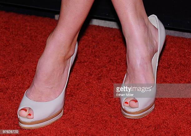 """Actress Alice Eve arrives at the Las Vegas premiere of """"She's Out of My League"""" at the Planet Hollywood Resort & Casino on March 10, 2010 in Las..."""
