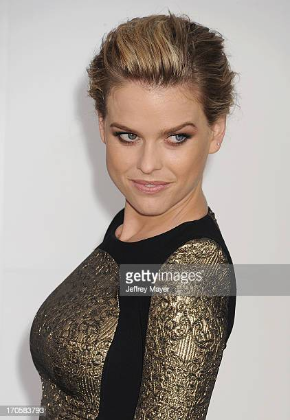 Actress Alice Eve arrives at the Los Angeles premiere of 'Star Trek Into Darkness' at Dolby Theatre on May 14 2013 in Hollywood California