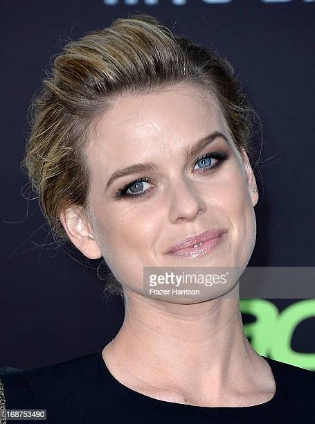 Actress Alice Eve arrives at the premiere of Paramount Pictures' Star Trek Into Darkness at Dolby Theatre on May 14 2013 in Hollywood California
