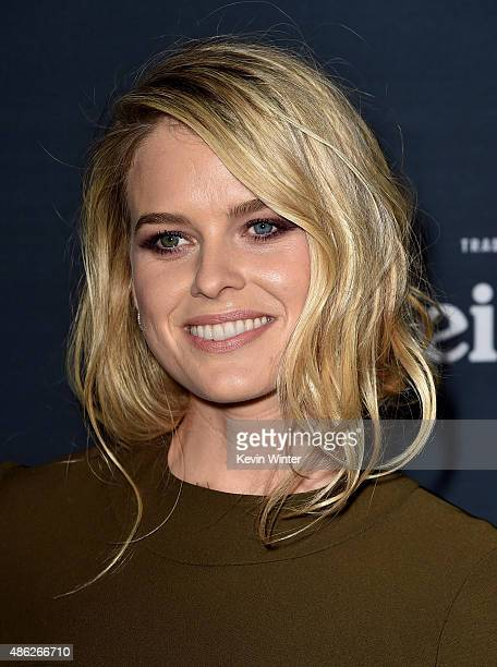 Actress Alice Eve arrives at the premiere of Radius and G4 Productions' Before We Go at the Arclight Theatre on September 2 2015 in Los Angeles...