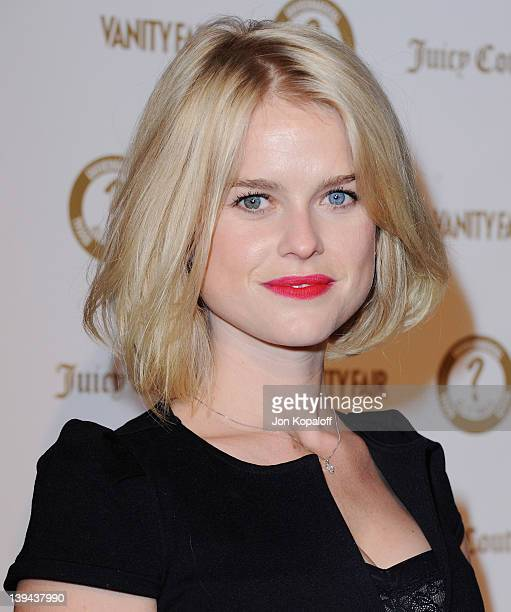 """Actress Alice Eve arrives at Vanity Fair/Juicy Couture Host Vanities 20th Anniversary And """"Campaign Hollywood"""" Kick Off Party at Siren Studios on..."""