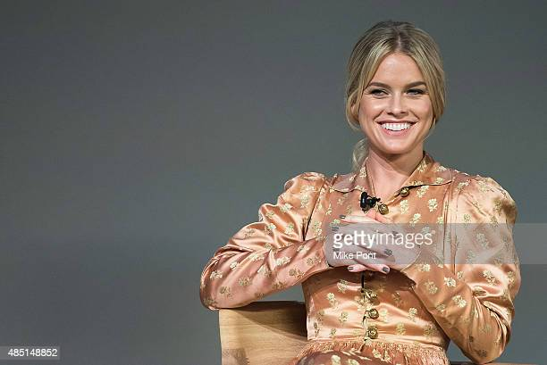 Actress Alice Eve attends Apple Store Soho presents Meet the Filmmaker Dirty Weekend at Apple Store Soho on August 24 2015 in New York City
