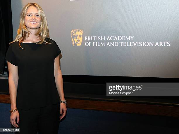 Actress Alice Eve attends Brits To Watch Director/Writer Hong Khaou at Soho House on June 12 2014 in New York City