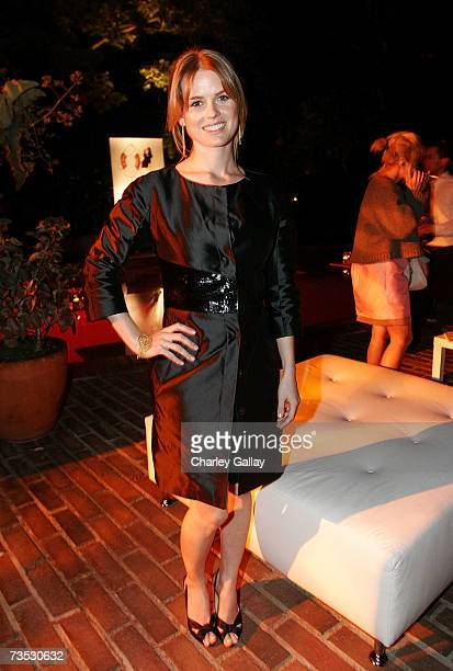 Actress Alice Eve attends C Magazine and Boucheron's celebration of the March issue of C Magazine's fashion portfolio featuring Dita Von Teese at the...