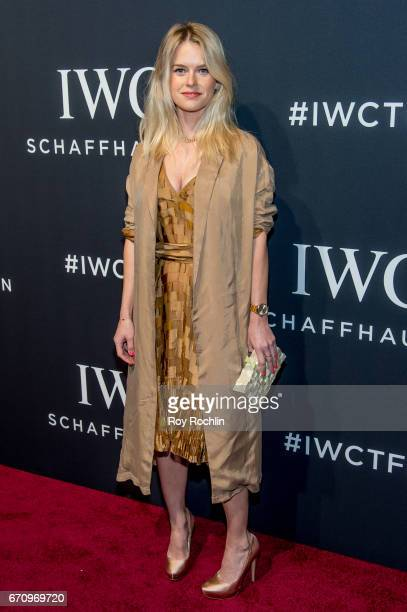 Actress Alice Eve attends 'For The Love Of Cinema' Gala Dinner at Spring Studios on April 20 2017 in New York City