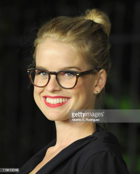 Actress Alice Eve attends MIU MIU presents Lucrecia Martel's Muta on July 19 2011 in Beverly Hills California