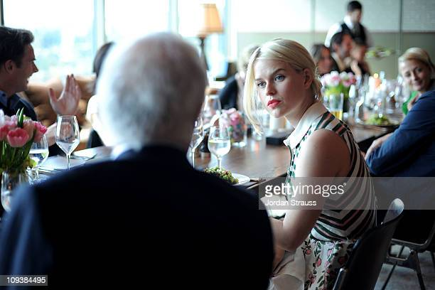 Actress Alice Eve attends Piaget Hollywood Lunch held at Soho House on February 23 2011 in West Hollywood California