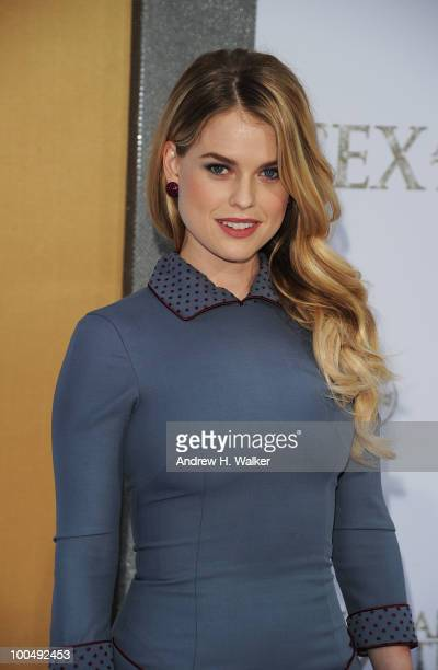 Actress Alice Eve attends Sex And The City 2 Premiere presented by MercedesBenz And Maybach at Radio City Music Hall on May 24 2010 in New York City