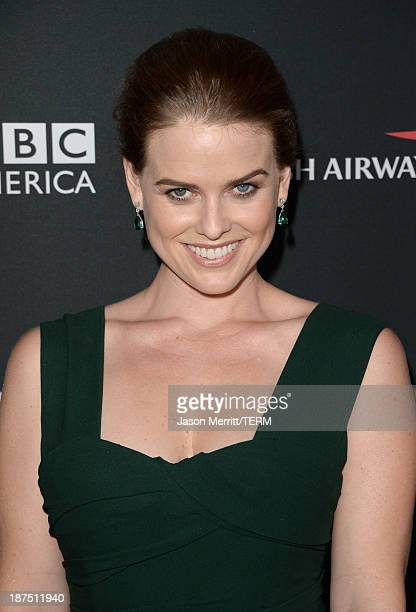 Actress Alice Eve attends the 2013 BAFTA LA Jaguar Britannia Awards presented by BBC America at The Beverly Hilton Hotel on November 9 2013 in...