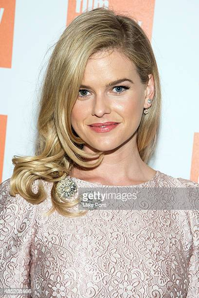 Actress Alice Eve attends the 2015 Film Society of Lincoln Center Summer Talks with Dirty Weekend at Elinor Bunin Munroe Film Center on August 25...
