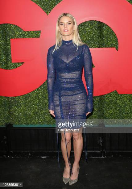 Actress Alice Eve attends the 2018 GQ Men Of The Year party at Benedict Estate on December 06, 2018 in Beverly Hills, California.