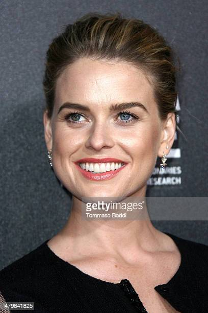 Actress Alice Eve attends the 2nd annual Rebel With a Cause Gala held at the Paramount Studios on March 20 2014 in Hollywood California